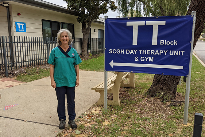 Odile Roberts, Senior Physiotherapist